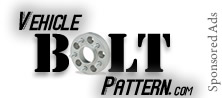 Bolt Pattern and lug Reference